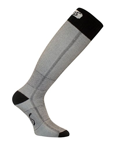 Eurosocks Junior Snow Base Socks, Black, XX-Small