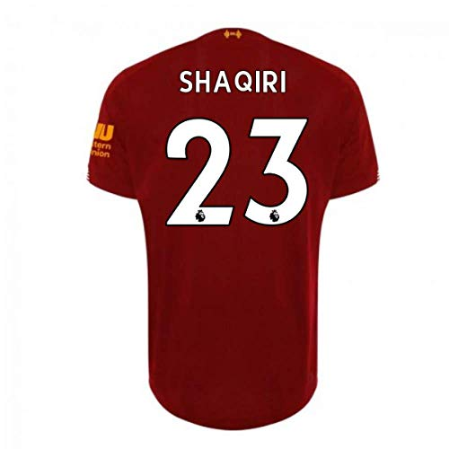 2019-2020 Liverpool Home Football Soccer T-Shirt Trikot (Xherdan Shaqiri 23) - Kids