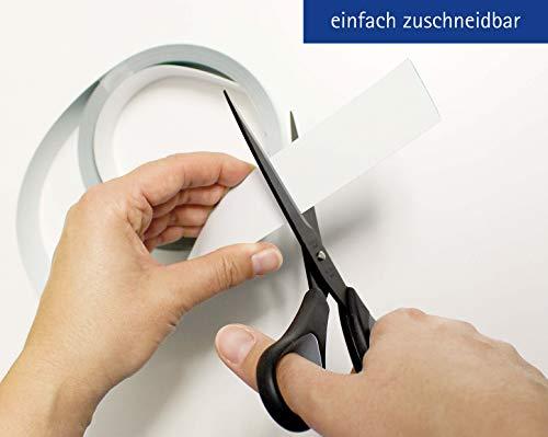 Maul Ferroband, Selbstklebende Magnethaft-Wandleiste aus Stahlblech - 2