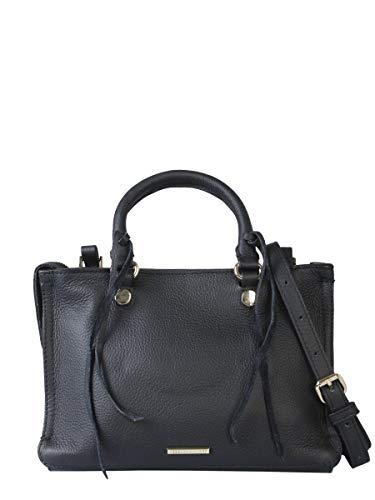 Rebecca Minkoff Luxury Fashion Mujer HS16IPBX61001 Negro Bolso De Mano | Temporada Outlet