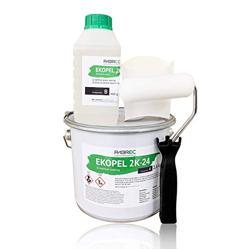 Ekopel 2K Bathtub Refinishing Kit - New Tool Kit Coming 12/23 - Odorless DIY Sink/Tub Reglazing Kit - 20X Thicker Than Other Tub Kits- No Peel Pour On Tub Coating - Bright Gloss Tub Coating (White)