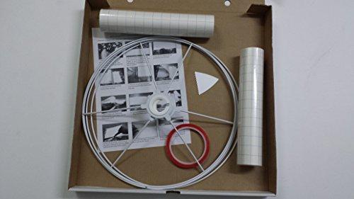 Bouwkit voor hanglampen of tafellampen om zelf te maken, 35 cm