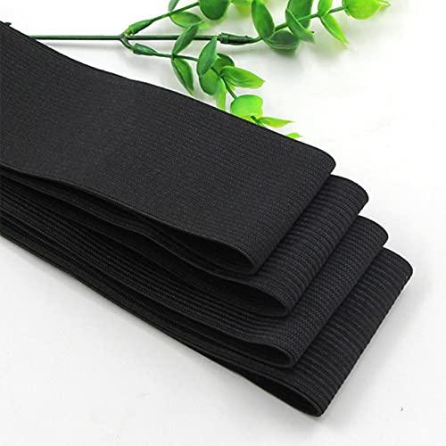 ZHOUSAN 5 metros de nylon blanco/negro más alto elástico bandas ropa pantalones costura accesorios DIY