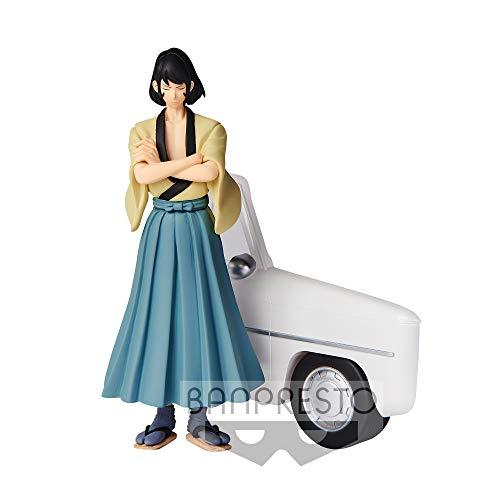 Figura Statua GOEMON Ishikawa 16cm Serie CREATOR X CREATOR Part 5 Lupin The Third Originale BANPRESTO - Sorridente con Kimono Chiaro - Versione A