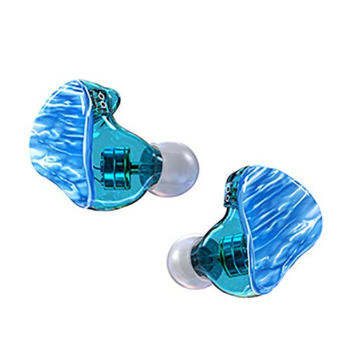 Best Sports Earbuds,Neckband Premium Deep Bass Bluetooth 6D Sound Effect Waterproof Sweatproof Sport in Ear Built in Mic for Running and Workouts,Blue