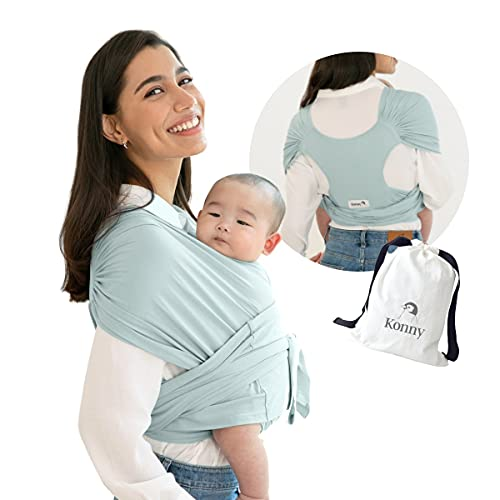 Konny Structured Ultra-Lightweight Baby Carrier With Hassle Free Baby Wrap Sling