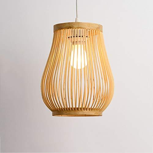 Luz colgante moderna Simple retro colgante lámpara creativa personalidad de madera colgante...