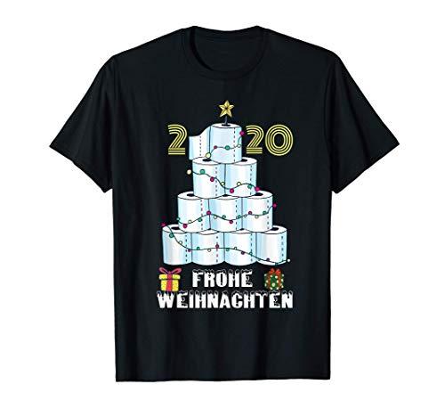 frohe weihnachten 2020 Klopapier Baum Humor hamsterkauf T-Shirt