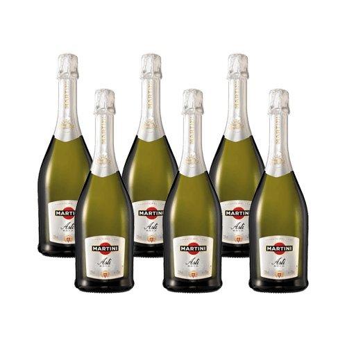 Martini Asti - Schaumwein - 6 Flaschen