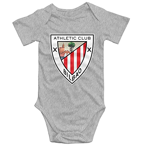 ATH-Letic Club De Bil-Bao Logo Baby Jumpsuit Short Sleeve Jumpsuit Round Neck Cotton Comfortable