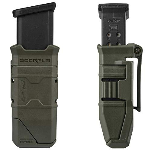 GARRET MACHINE Universal 9mm / .40cal Magazine Holster for Double Stack Glock