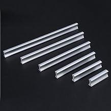 Voleseni™ Meubelgrepen aluminium railgreep handgreep handgreep voor keuken lade, deur, kasten, huis kantoor decoratie (64 ...