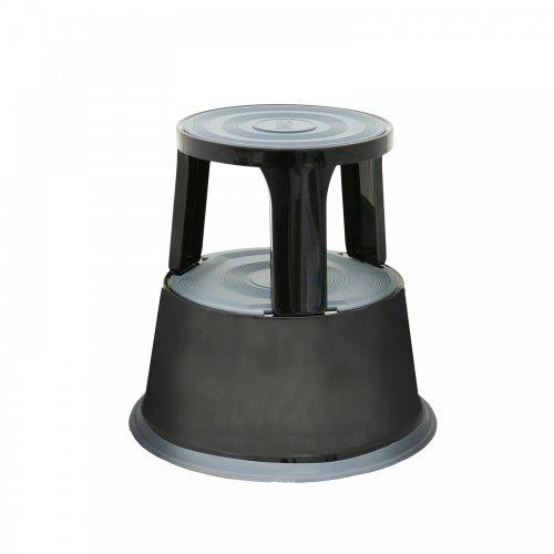 Robuste en métal neuf supastep Kick Marchepied en rouge, noir, bleu et gris Blanc noir