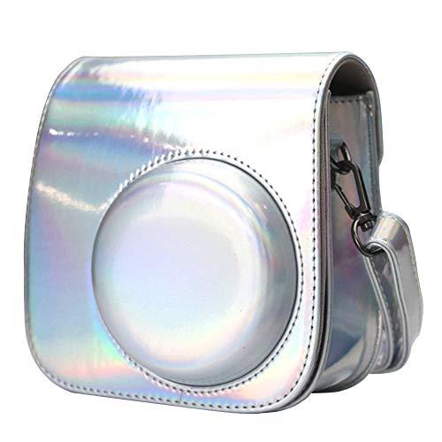 Anter Mini Funda Bolsa de Fabricada en Cuero, Dispone de Una Correa de Proteger y Bolsillo para Fujifilm Instax Mini 8 8+ Mini 9 Cámaras Instantáneas