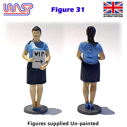 Trackside Figure Scenery Display No 31 New 1:32 Scale WASP