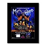 Music Ad World Manowar - Gods of War Mini-Poster, matt,
