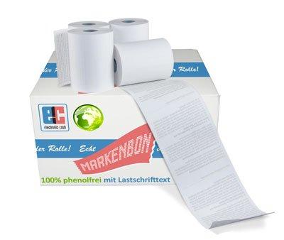 EC Cash Thermorollen phenolfrei passend für Atos Worldline YOXIMO mobile [9m] (50 Rollen) - markenbon