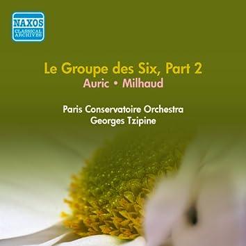 Groupe Des Six (Le), Part 2 - Auric, G. / Milhaud, D. (Paris Conservatoire, Tzipine) (1954)