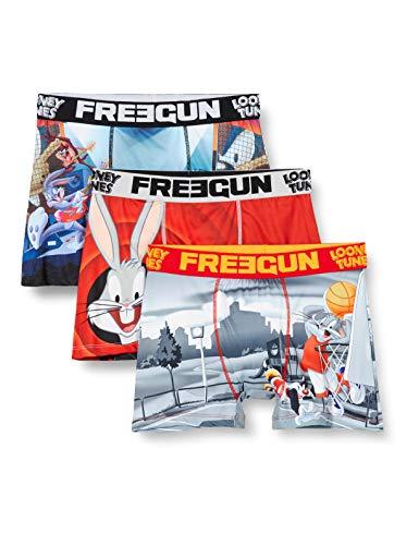 FREEGUN Lot De 3 Boxer Looney Tunes Pantaloni, Multicolore (Multicolor G2), XX-Large (Pacco da 3) Uomo