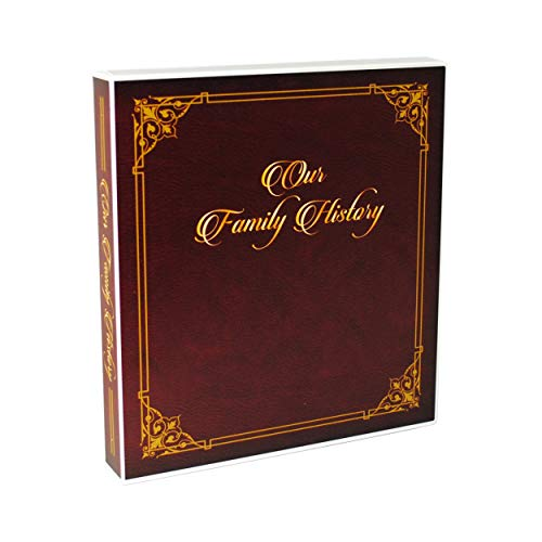 UniKeep Family History Records Organizer and Binder with Sheets and Materials to Help Get Organized and Document Your Ancestors
