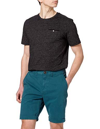 Superdry International Chino Short Pantaloncini, Foglia di tè, 29 Uomo