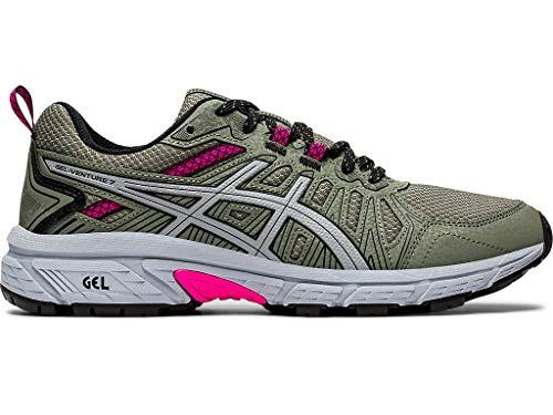 ASICS Women's Gel-Venture 7 Trail Running Shoes, 6.5, Mantle...