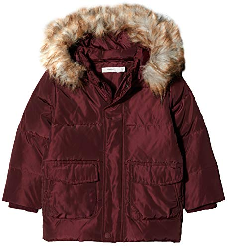 NAME IT NAME IT Baby-Jungen NMMMARKOS DOWN Jacket Camp Jacke, Rot (Port Royale Port Royale), 98