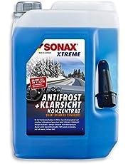 SONAX XTREME AntiFrost+KlarSicht Konzentrat (5 Liter) ergibt bis zu 15 Liter Winter-Scheibenwaschwasser, sofort mischbereit, schlierenfrei, Antikalk-Effekt   Art-Nr. 02325050