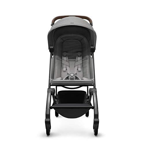 Joolz AER - Buggy - Cochecito para bebé a niño - Diseño ergonómico - Compacto y ligero - Doble con una sola mano - Luz de viaje 6 kg - Delightful Grey