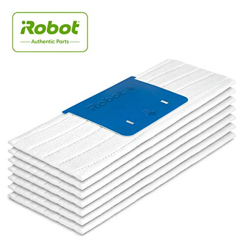 iRobot 4632822, Panni per Lavaggio ad Acqua 7X, Monouso, Parti Originali, Compatibili con Braava Jet Serie m, Bianco