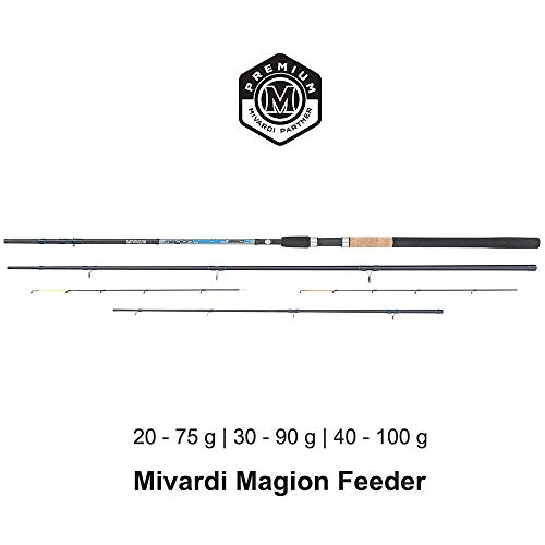 Mivardi Magion Feeder Rute 3-teilig 3.30-3.90 m (3,60 m | 20-75 g)