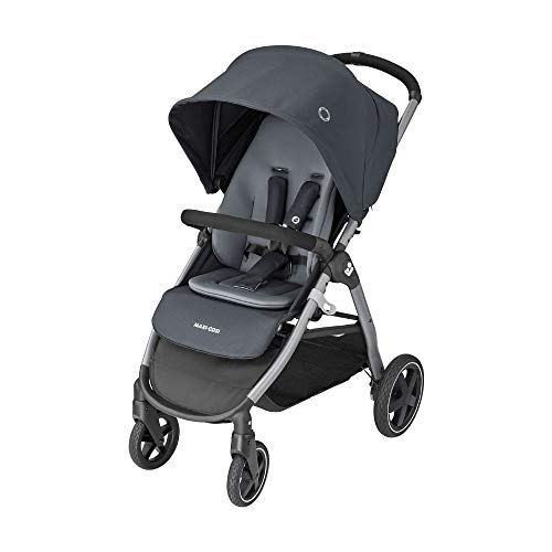 Maxi-Cosi Gia Compact Pushchair with Comfortable Seat, All-Terrain Stroller from Birth, Essential...