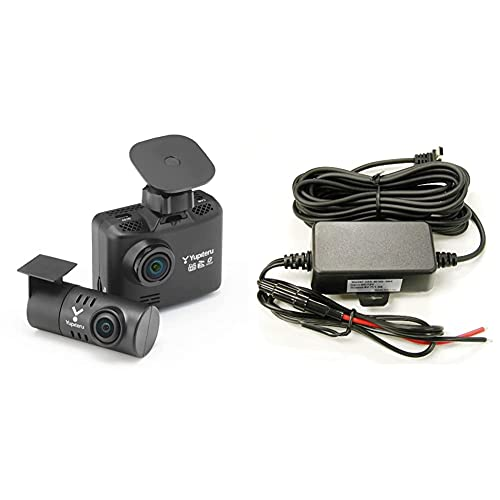 ユピテル 前後2カメラ ドライブレコーダー WDT510c + OP-E1125 【直接配線セット】 前方200万画素 後方100万画素 ノイズ対策済 全国LED信号対応 MicroSD(16GB) 付 駐車監視 Yupiteru
