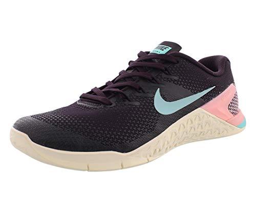 Nike Wmns Metcon 4, Zapatillas de Deporte para Mujer, Multicolor (Burgundy Ash/Aurora...