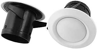 75 mm Montaje Dia de ventilaci/ón Ajustable C/írculo Salida de aire Rejilla cubierta