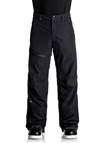 Quiksilver Men's Forever 2l Gore-tex Snowboard Ski Pants, Black, XL