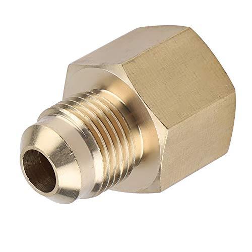 Adaptador de latón para racor de tubo - Adaptador de latón para racor de tubo de conexión NPT de 3/8