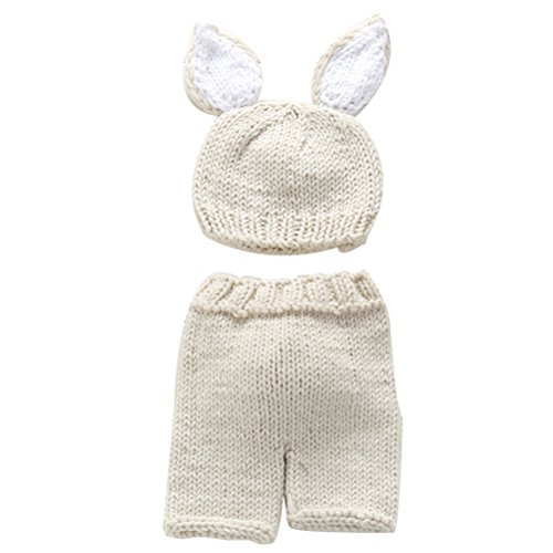 Zhhlinyuan Mode Newborn Baby Boy Girl Crochet Knit Costume Photo Photography Prop Outfit 2198