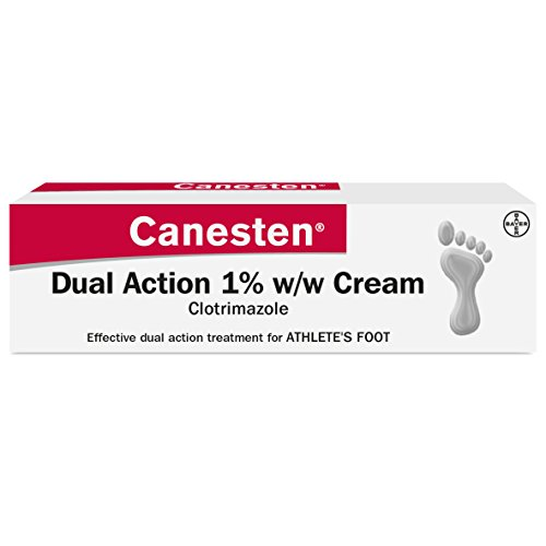 Canesten 1% antifungal cream available over the counter