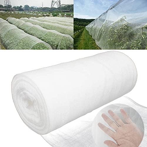 2 x 20 m Reti Protettive da Giardino Rete per Insetti Rete di Insetti per Verdure Rete a Maglia fine per Piante ortaggi Fiori Giardino
