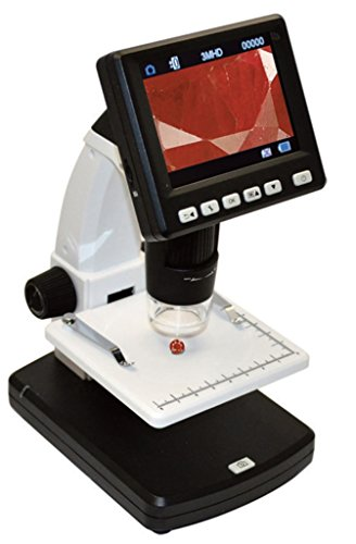 Grobet 1080P Full High Definition Digital Microscope for Gemstones & Jewelry