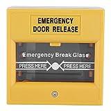 Botón de Emergencia, Incendio Botón de liberación de la Puerta,botón de Alarma de Incendio de Salida de Emergencia para la Seguridad del Hogar,Oficina,Hotel,Escuela