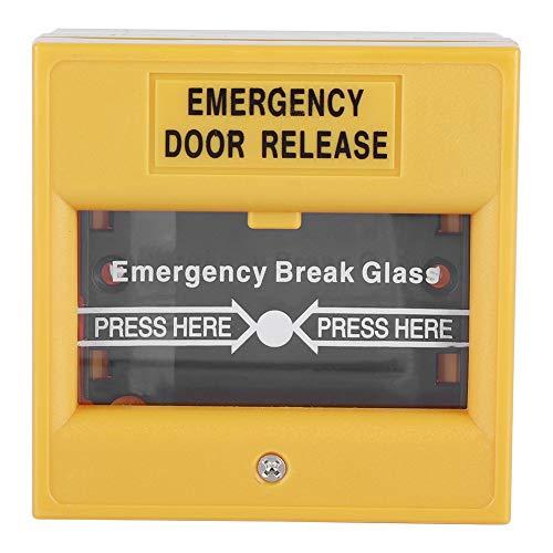 Botón de Emergencia Fuego Salida de Emergencia Botón de Alarma Liberación de Vidrio de Seguridad Botón de Alarma Roto para Puerta de Salida Puerta de Emergencia
