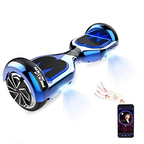 HITWAY Hoverboard Bluetooth 6,11 Pulgadas Scooter eléctrico Self Balance Scooter E Hover Board para niños y Adolescentes