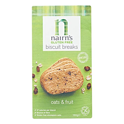 Nairns - Gluten Free - Oats & Fruit Biscuits - 160g