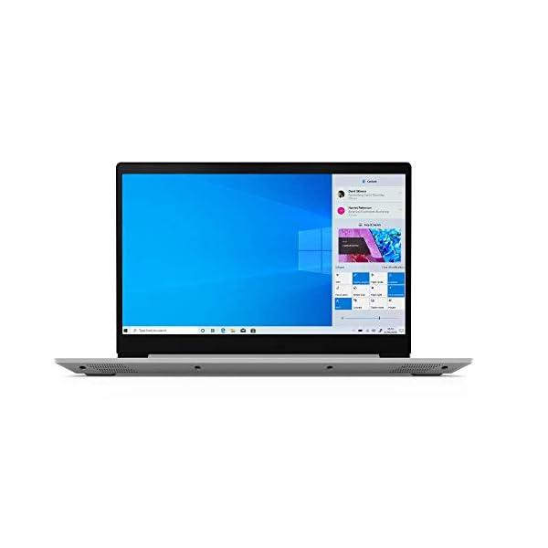 "Lenovo IdeaPad S145 15.6"" HD Slim Laptop – (Intel Pentium Gold, 4GB RAM, 128GB SSD, Windows 10 in S Mode) – Platinum Grey 3"