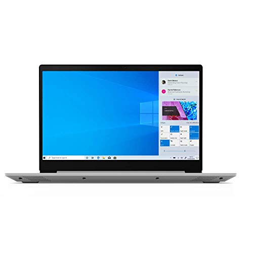 "Lenovo IdeaPad S145 15.6"" HD Slim Laptop – (Intel Pentium Gold, 4GB RAM, 128GB SSD, Windows 10 in S Mode) – Platinum Grey"