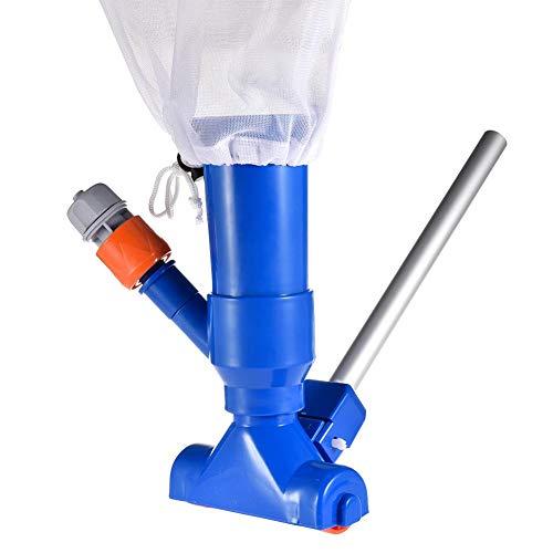 Pool Vacuum Cleaner/pool Vacuum, Tragbares Wasserstrahl-Reinigungsset Für Schwimmbäder, Reinigungswerkzeug Für Schwimmbäder Unterwasserreiniger Für Oberirdische Teichbrunnen
