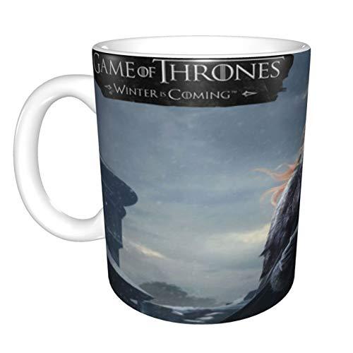 Taza de regalo para abuela de Game of Thrones Winter is Coming, para el día de la madre, regalo para el día de la madre, regalo de cumpleaños para abuela, 325 ml