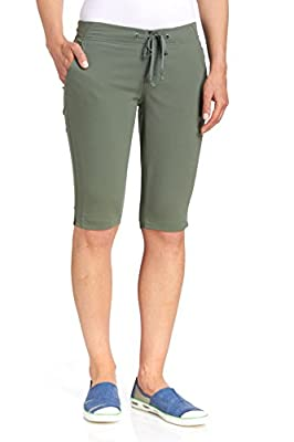 Columbia Women's Anytime Outdoor Long Short Water & Stain Repellent, Cypress, 8x13